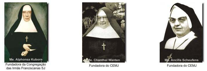 Fundadoras do CEMJ