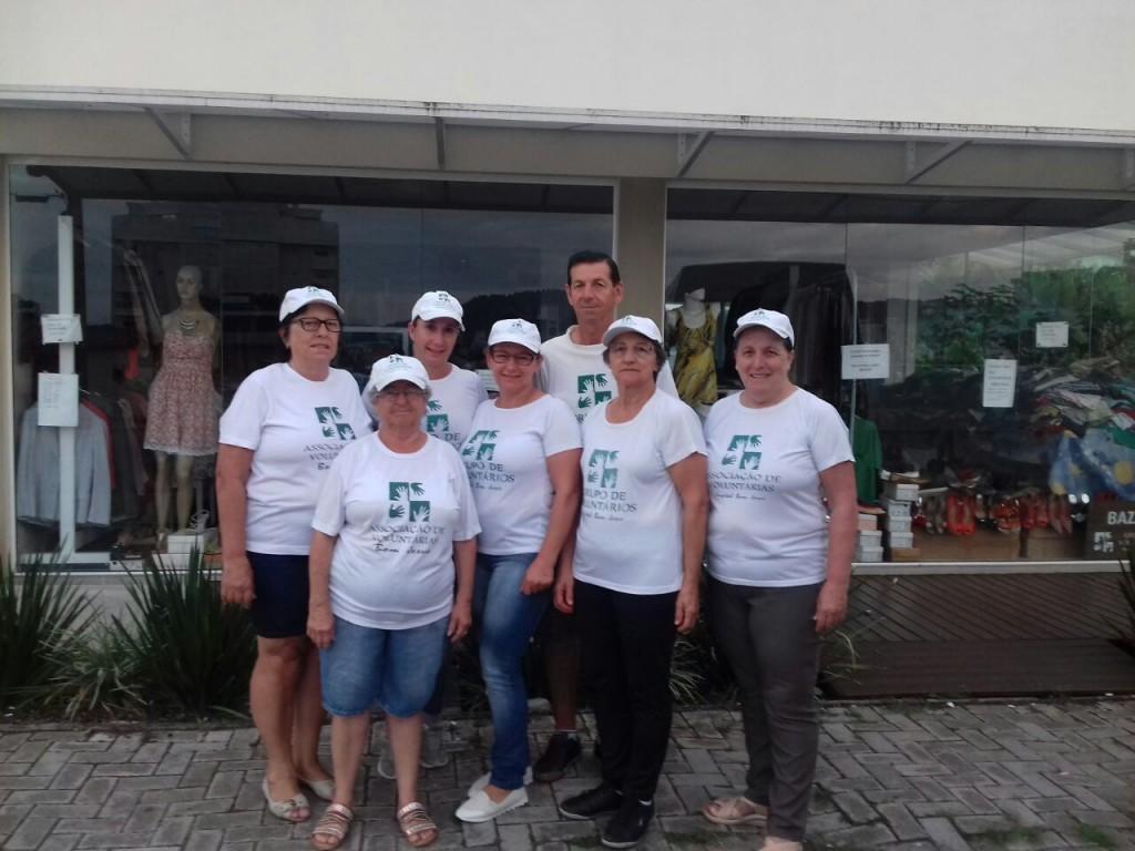 Pedágio Voluntárias